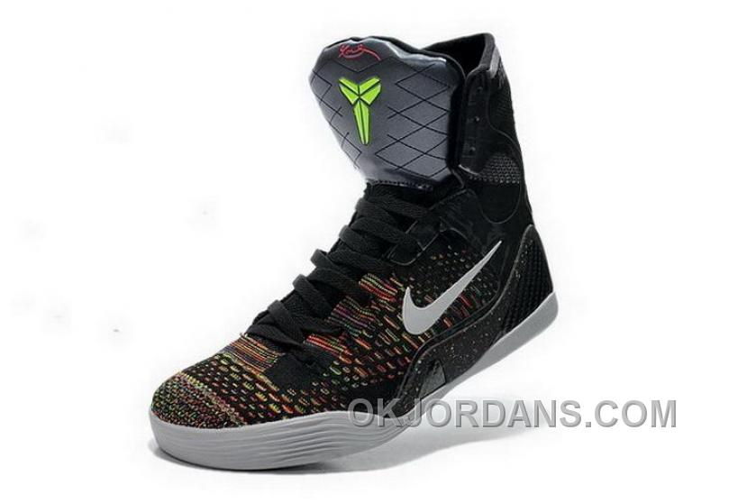 Buy Cheap Nike Kobe 9 2014 High Master Black White Mens Shoes Top Deals Ayd2NB