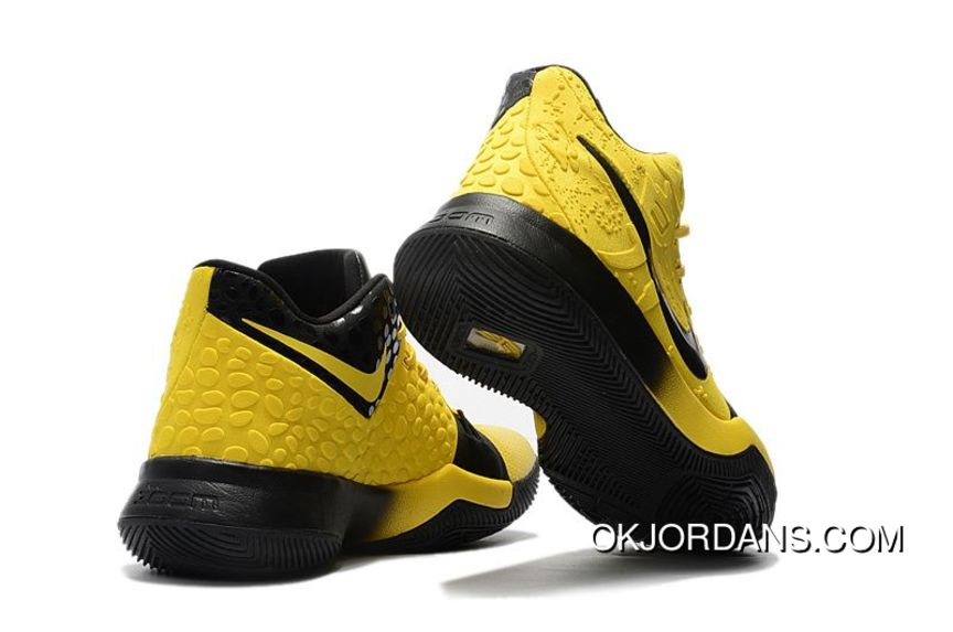 separation shoes 07268 625ce 2017 Nike Kyrie 3 Bruce Lee Tour Yellow Black New Style