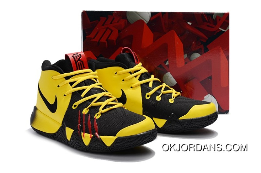 4075a629d22 Nike Kyrie 3 Mamba Mentality Bruce Lee Tour Yellow Black New Release
