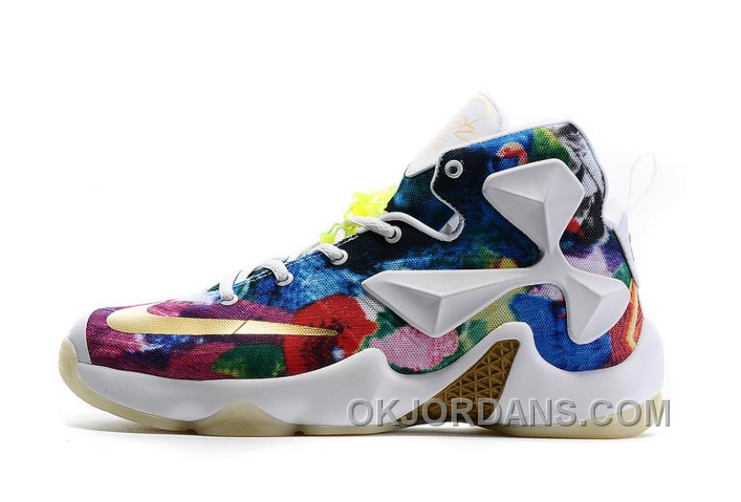 Nike LeBron 13 Grade School Shoes 25k Star Color Authentic DaCiXZh