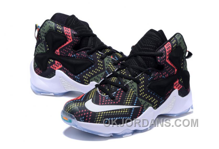 Nike LeBron 13 Grade School Shoes Black History Month Authentic SSfHFf