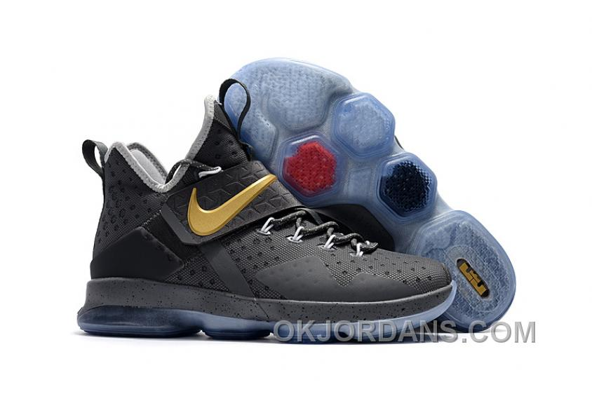 Nike LeBron 14 SBR Grey Cement Lastest