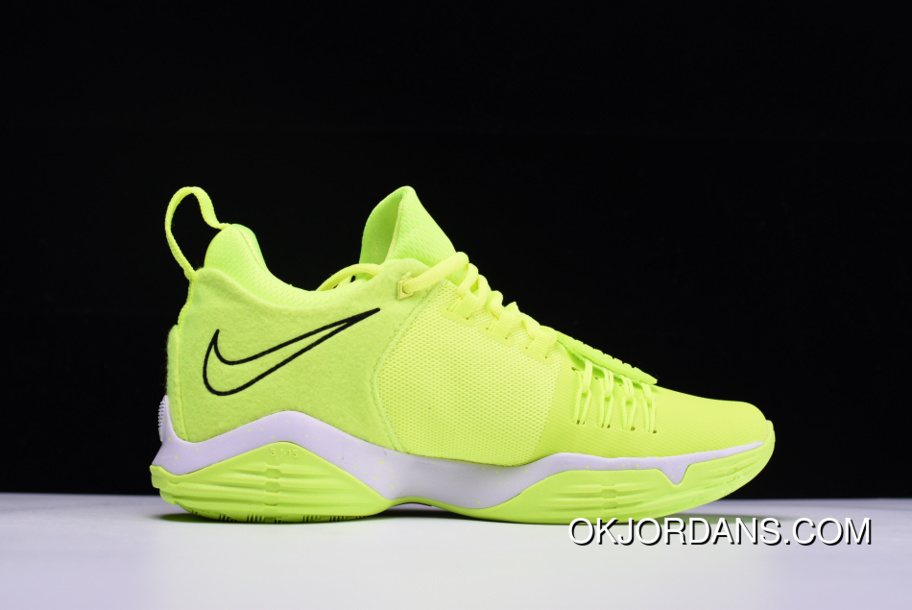 low priced d16b2 0c74f Nike PG 1 Neon Volt/White For Sale