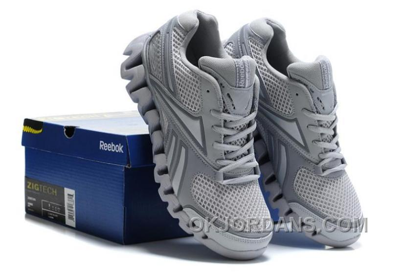 Reebok Zig FUEL Mens Grey Cheap To Buy NTPx6