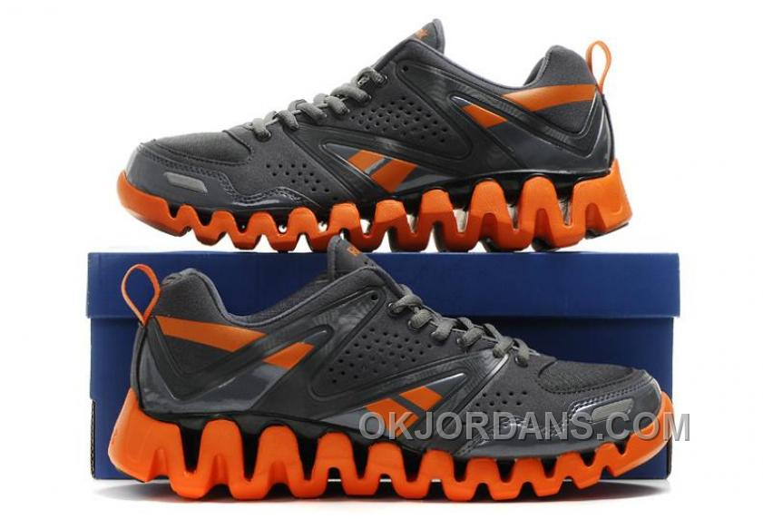 Reebok ZigTech Mens Black Orange For Sale ASFW5