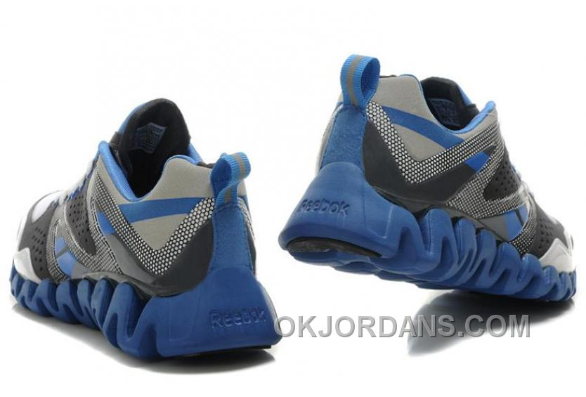 Reebok ZigTech Mens Gray Blue Christmas Deals G8j5b