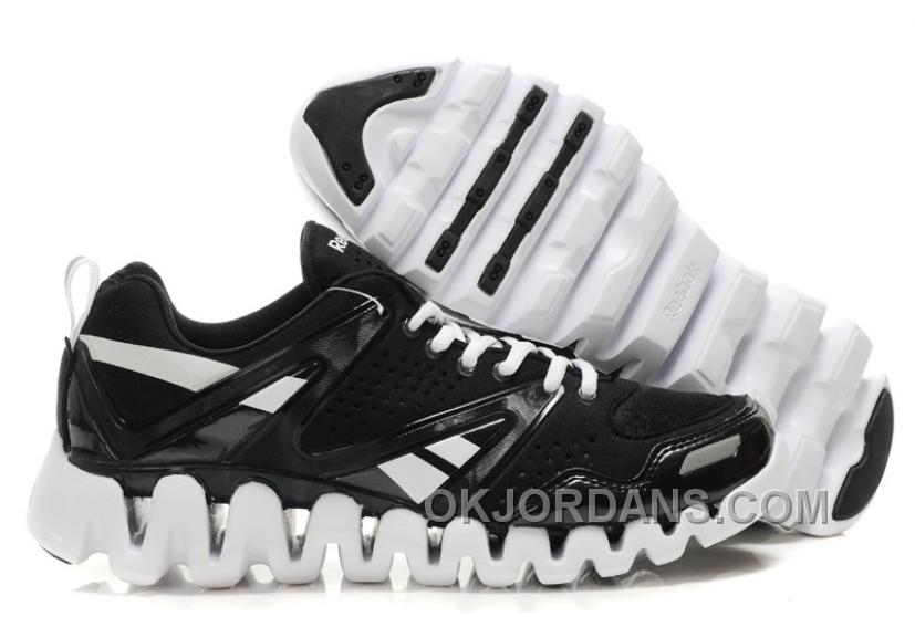 Reebok ZigTech Mens Black White Authentic KDnn4