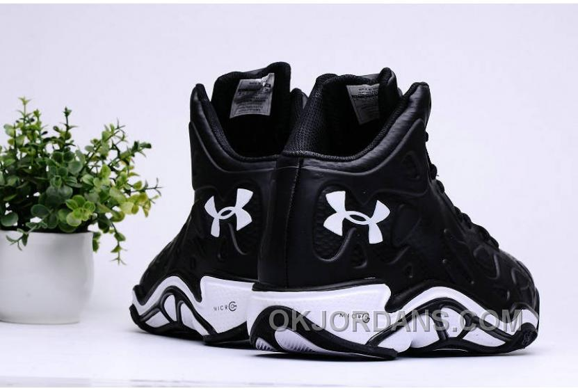 Under Armour Micro G Anatomix Spawn 2 Black White Authentic AZt4P