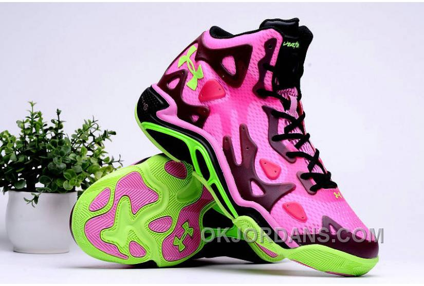 Authentic Under Armour Micro G Anatomix Spawn 2 Pink Black Hyper Green New Style 7fGk3i