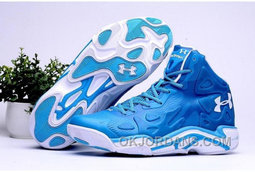 2016 Under Armour Micro G Anatomix Spawn 2 Mens Shoes Blue White Sneakers Copuon Code 7wJKCCT