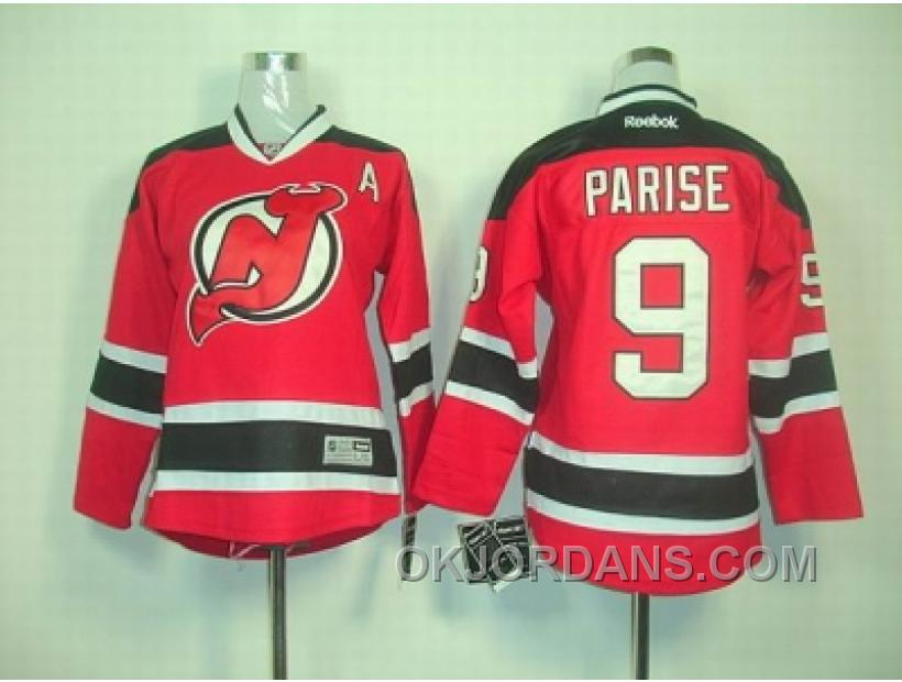 Youth Nhl Jerseys New Jersey Devils #9 Parise Red D4Jxi
